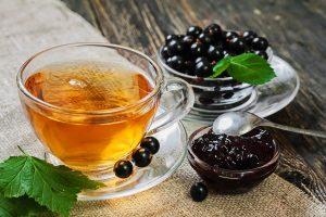 malinov čaj z robido