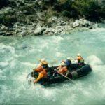 Zgodovina raftinga v Sloveniji – prvi spust v Tacnu