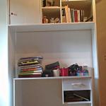 Pisalna miza v omari